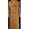 LANVIN heart-lapel double-breasted coat - Giacce e capotti -