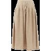 LAUREN MONNOGIAN neutral skirt - Skirts -