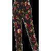 LE3NO Floral Print Pants - Capri & Cropped -