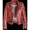 LEATHER BIKER JACKET - Jacket - coats -
