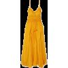 LEE MATHEWS Lilla ruffled silk-crepon ma - Dresses -