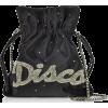 LES PETITS JOUEURS black disco pochette - Clutch bags -