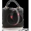LES PETITS JOUEURS black & pink stars - Hand bag -