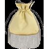 LES PETITS JOUEURS light yellow pochette - Torbe s kopčom -