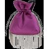 LES PETITS JOUEURS purple pochette - Clutch bags -