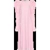 LES RÊVERIES Floral-jacquard silk dress - Dresses -
