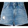 LEVI'S VINTAGE CLOTHING distressed denim - Hlače - kratke -