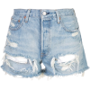 LEVI'S distressed denim shorts - Shorts -