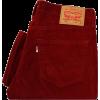 LEVI's corduroy jeans - ジーンズ -