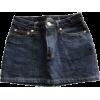 LEVI's denim mini skirt - スカート -