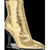 LIKMA Crocodile Printed Leather Ankle Bo - Botas -