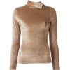 LILLY SARTI velvet sweater - Pulôver -