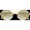 LINDA FARROW round shaped sunglasses - Gafas de sol -