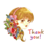 LINE Stickers - Lutella (Colorful Girl) - Illustrations - $0.99
