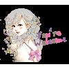 LINE Stickers - Lutella (Colorful Girl) - Rascunhos - $0.99  ~ 0.85€