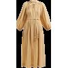 LISA MARIE FERNANDEZ neutral belted - Dresses -