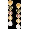LIZZIE FORTUNATO JEWELS Nonna Flower ear - Earrings -