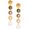 LIZZIE FORTUNATO JEWELS Nonna Flower ear - Uhani -