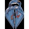 LOEWE Animal alphabet-print silk scarf £ - Scarf -