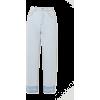 LOEWE Frayed high-rise straight-leg jean - Jeans -