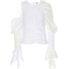 LOEWE Linen and cotton top - Long sleeves shirts -