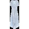 LOEWE Linen and silk jacquard dress - Dresses -