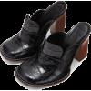LOEWE Loafer 90 Black - Loafers -