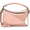 LOEWE Puzzle Small leather and suede sho - Hand bag -