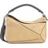LOEWE Puzzle suede shoulder bag - Hand bag -