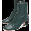 LOEWE Strass Heel Boot 55 Black - Stiefel - 1.64€