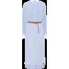 LOEWE Striped cotton shirt dress - Vestiti -
