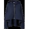 LOEWE navy oversized hoodie - Jacket - coats -