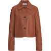 LOEWE neutral leather jacket - Kurtka -