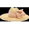 LOLA HATS Scallopini silk bow-trimmed st - Hüte -