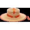 LOLA HATS Zorro Straw Hat in Orange - Hat -
