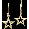 LONDON ROAD star earrings - Uhani -