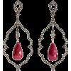 LOREE RODKIN 18-karat rhodium white gold - Earrings -