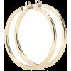 LOREN STEWART Medium Thick Tube Hoops 10 - Earrings - 325.00€  ~ $378.40