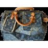 LOUIS VUITTON denim patchwork bag - Torebki -