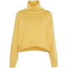 LOULOU STUDIO yellow turtleneck pullover - Pullovers -