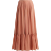LOUP CHARMANT  Flores tiered maxi skirt - 裙子 -