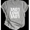 LOVE 90s t-shirt - T-shirts -