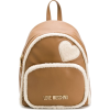 LOVE MOSCHINO shearling backpack - Backpacks -