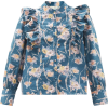 LOVESHACKFANCY Beatrix ruffled floral-pr - Koszule - długie -