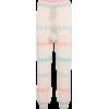 LOVESHACKFANCY Chabela intarsia cotton-b - Spodnie Capri -