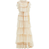 LOVESHACKFANCY Fabia tiered lace gown - Faldas -