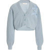 LOVESHACKFANCY blue cashmere cardigan - Cardigan -
