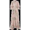 LUISA BECCARIA floral print gown - sukienki -