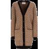 La DoubleJ Oversized Mohair-Blend Cardig - Swetry na guziki -