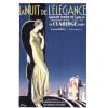 La Nuit De L'eleganceClaridge1926 poster - Ilustracije -